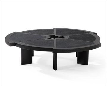שולחן Rio של פריאנד. 6 גזרות