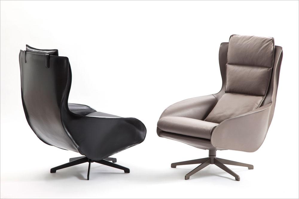 לכבוד יום הולדתו ה-80, מריו בליני עיצב את כורסאות Cab - המשך לכסא שעיצב ב-1977 והפך לרב מכר ולאחד הרהיטים המועתקים ביותר של קאסינה