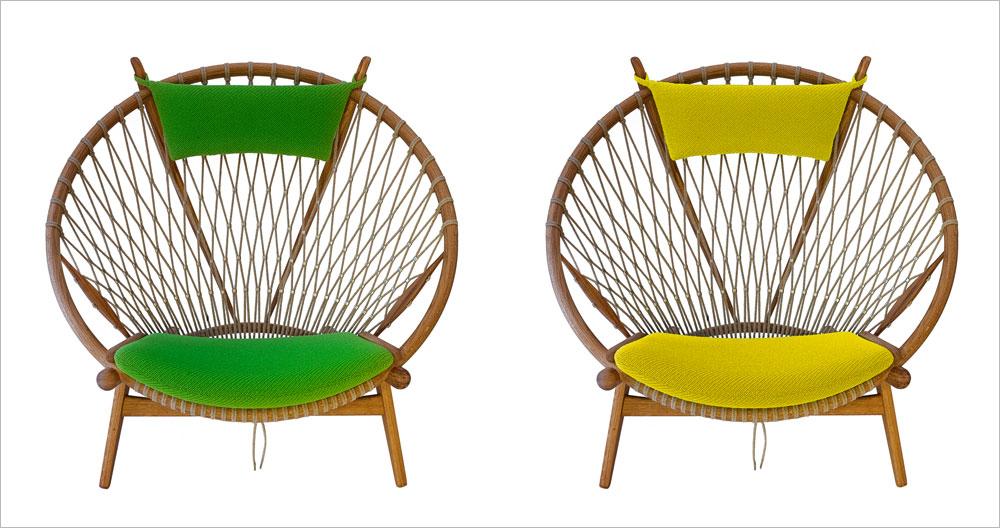 כיסאות העץ של האנס וגנר, אחד המעצבים החשובים בסקנדינביה, חוזרים במהדורות מחודשות של PP Mobler. איכות עילית (Katja Kejser & Kasper Holst Pedersen)