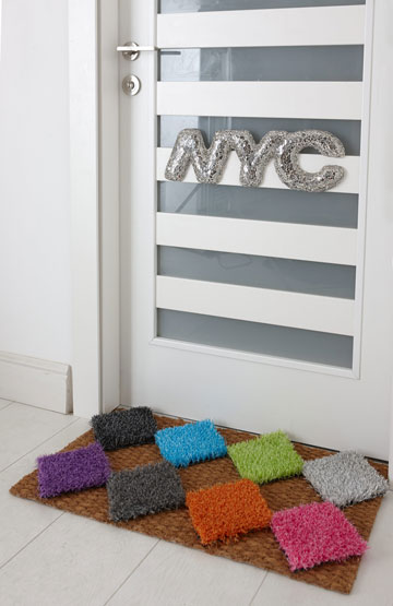 שטיחון צבעוני (צילום: עדי גלעד)