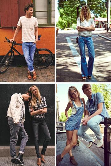 LEE. חולצות, אוברולים ומכנסי ג'ינס מוצלחים לנשים ולגברים