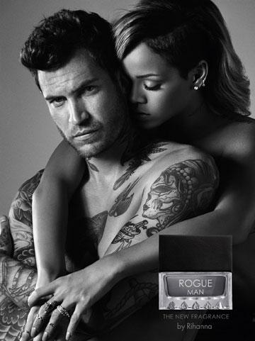 """ויש גם גרסה לגבר בניחוח """"עצי-אוריינטלי"""". בושם ROGUE של ריהאנה"""