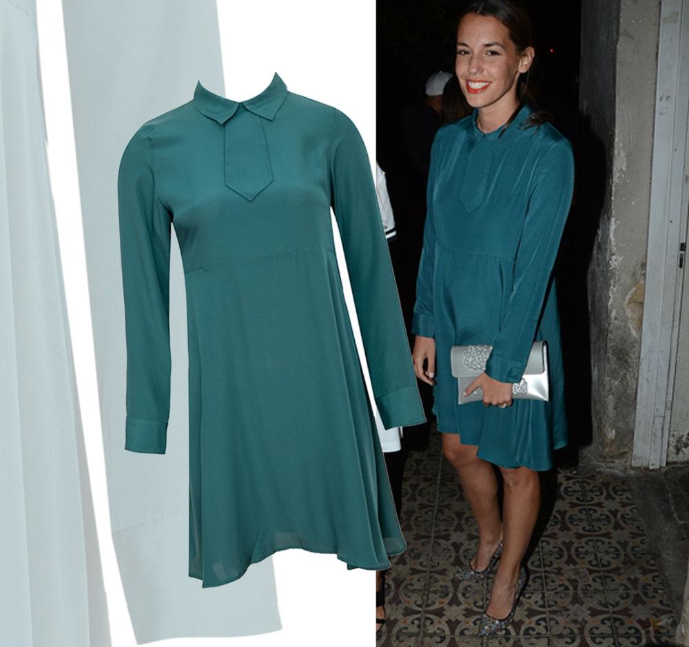 ירדן הראל בשמלה של legaloutfit (מחיר: 425 שקל) (צילום: אביב חופי)