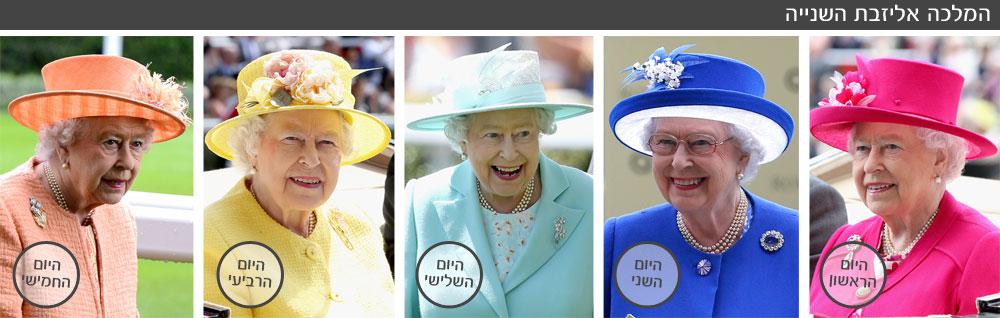 רוצות ללמוד איך להרכיב סט מושלם? המלכה אליזבת השנייה בחמישה לוקים לחמישה ימים (צילום: gettyimages)