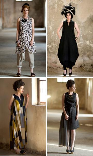 בלינקי. בגדים שאורזים את הגוף בנינוחות ועשויים מחומרים טבעיים (צילום: מירי דוידוביץ)