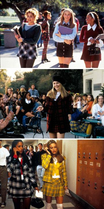 """תלבושת אחידה לבית הספר, גרסת """"קלולס"""" (צילום: rex/asap creative)"""
