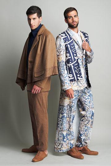 סמאר עאסף. בגדים העוסקים בנושא המסקרן של גבריות ומנהיגות (צילום: גלעד בר שלו)