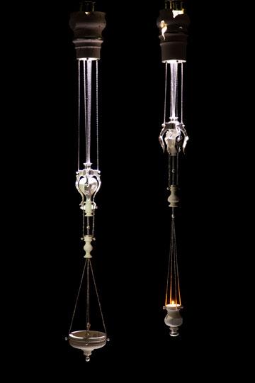 המנורות של גידו קליגל (צילום: studio guido)