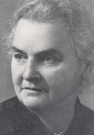 רחל כהן-כגן. אחת משתי הנשים שחתמו על מגילת העצמאות (מתוך knesset.gov.il)