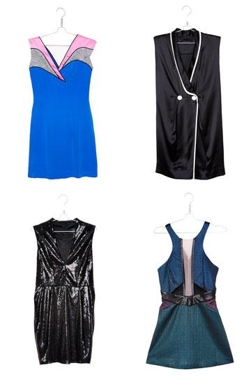 """""""אני רוכשת המון אונליין, וארבע השמלות האלה נרכשו כולן באינטרנט לטובת חתונות שהוזמנתי אליהן. הבעיה - לא לבשתי אף אחת מהן"""" (צילום: ענבל מרמרי)"""