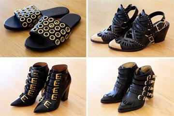 """""""יש לי אובססיה חדשה לאבזמים בנעליים, וזה מגיע יחד עם האהבה הטרייה שלי ללבוש שחור"""" (צילום: ענבל מרמרי)"""