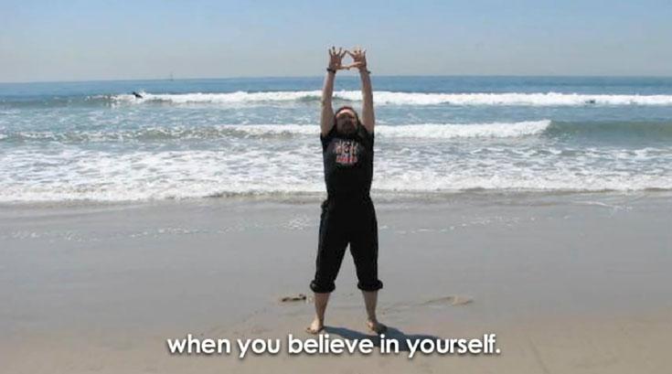 ניצחון הרוח על הגוף (צילום מסך: יוטיוב)