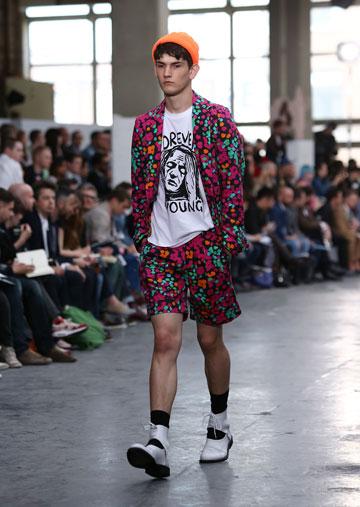 תצוגת האופנה של טופמן בלונדון. שבוע אופנה ראשון לגברים בעיר (צילום: gettyimages)