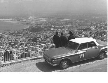היו זמנים. מבט מהמלון על חיפה והמפרץ (צילום: כהן פריץ, לע''מ)
