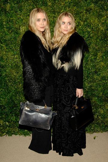 ברשימה השחורה של Peta: האחיות מרי קייט ואשלי אולסן (צילום: gettyimages)