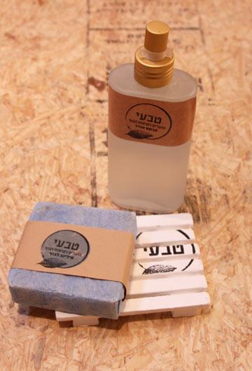 סבונים ומוצרים לטיפוח הגוף מחומרים טבעיים, של עמותת ''אנוש''. 20-24 שקלים (צילום: לובקה)