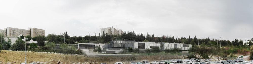 מוזיאון הטבע בירושלים, שתכנונו יופקד בידי המשרד הוותיק שוורץ-בסנוסוף בשיתוף so arch הצעיר. נדבך נוסף בקרית המוזיאונים של הבירה (הדמיה: שוורץ-בסנסוף בשיתוף so-arch)