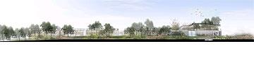 הדמיית מוזיאון הטבע (הדמיה: שוורץ-בסנסוף בשיתוף so-arch)
