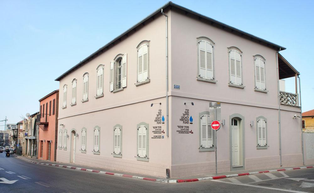 המתחם המוזנח במשך עשרות שנים, מאז שבית החייל עבר לרחוב וייצמן בצפון תל אביב, עומד להיחנך בקרוב ולסמן כניסה מהודרת לשכונה (צילום: אמית הרמן)