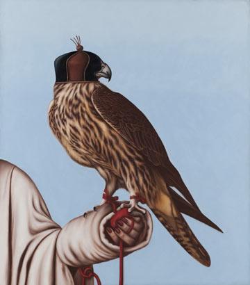 """מתוך תערוכת היחיד """"בין כאב ליופי"""" (צילום: אבשלום אביטל, באדיבות המוזיאון לאומנות מוזיאון האיסלאם)"""