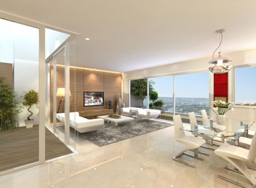 ההבטחה: דירות חדשות בבית מושבח. פרויקט שטרן (הדמיה: יוחאי אהרון A3D)