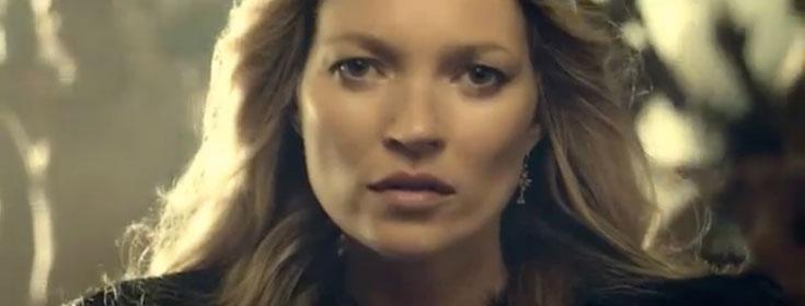 קייט מוס בווידאו קליפ לשיר White Light של ג'ורג' מייקל