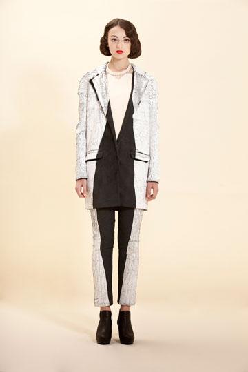 פרויקט הגמר של נוי גוז. ''היתה לי זקפה כשראיתי את הבגדים'' (צילום: רון קדמי)