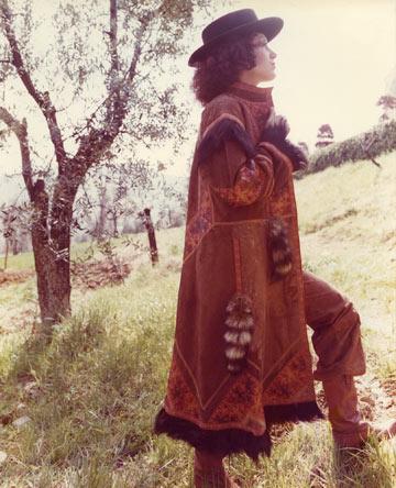תמרה יובל ג'ונס בתקופתה אצל קוואלי בשנות ה-70 (צילום: טים ג'ונס)