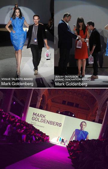 זוכה בפרסים ברחבי העולם. מארק גולדנברג והקולקציה בתחרות הבינלאומית ITS