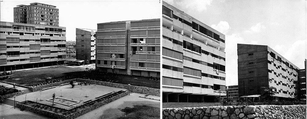 מתחם האיריס (קיראון) היה היחיד ששווק לשוק החופשי בקמפיין פרסומי יצירתי ומושקע, ולא לקציני קבע ולזכאי הדיור הציבורי (באדיבות ארכיון לוטן אדריכלים)