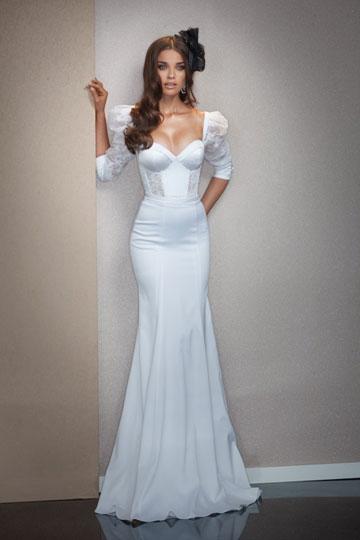 שמלת כלה של ג'ולי וינו ביריד לכלה החכמה