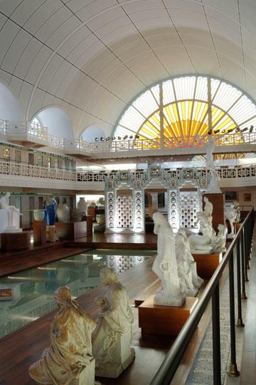 פיקאסו ואחרים. מוזיאון הבריכה ברובה (צילום: Alain Leprince/musée La PIscine 2012)