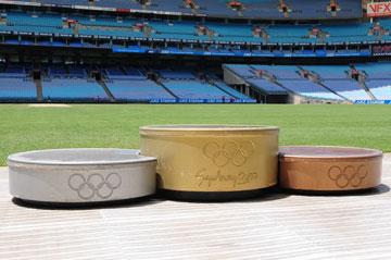 פודיום המנצחים, אולימפידת סידני (צילום: Shutterstock)