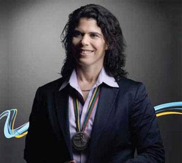 יעל ארד מתוך ספרה החדש - המדליה האולימפית הראשונה (צילום: באדיבות יעל ארד)