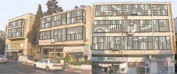 ''התרסה'' של אורלי כהן. מתאים לכל בניין ולכל דירה (באדיבות החוג לעיצוב פנים המכללה למינהל)