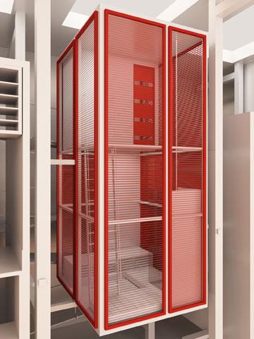 הפרויקט של יערה לנדאו. טיפוסי הפייסבוק משפיעים על טיפוסי הדירות (באדיבות החוג לעיצוב פנים המכון הטכנולוגי HIT חולון)