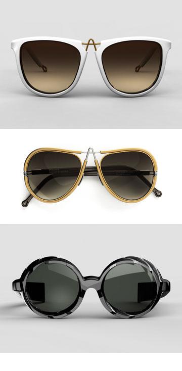 המשקפיים של pq בעיצוב רון ארד (צילום: סטודיו pq)