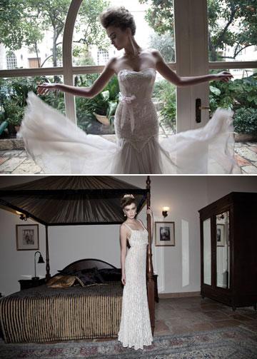 רונן פארצ'ה. קולקציית שמלות כלה מגוונת (צילום: דודי חסון)