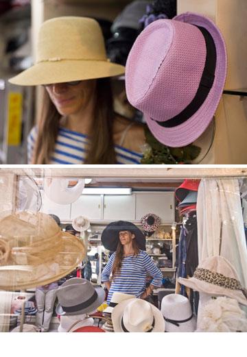 דליה כובעים. פנינה אמיתית (צילום: ערן סלם)