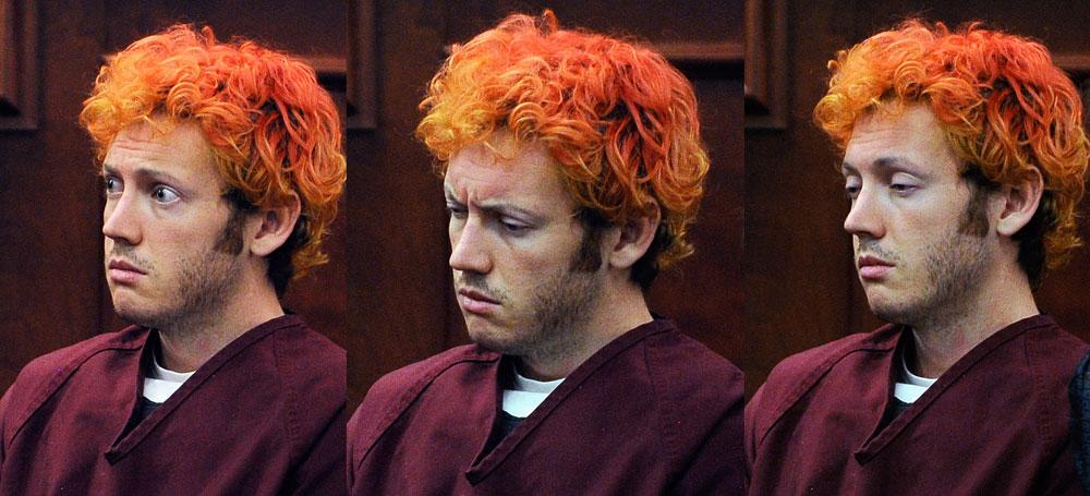 הבנות התלהבו מהשיער הכתום. העובדה שהוא רוצח לא מפריעה להן. ג'יימס הולמס (צילום: gettyimages)