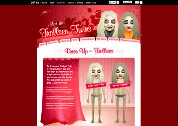 הקמפיין של Peta נגד האחיות אולסן