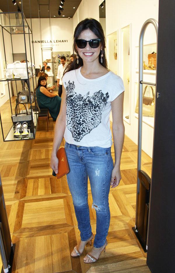 יפה בג'ינס. סנדי בר (צילום: רפי דלויה)