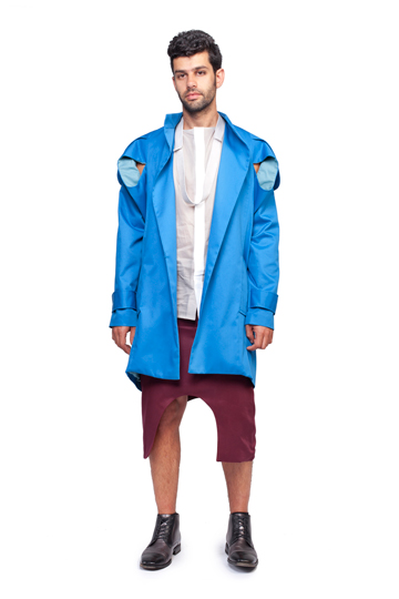 שני סוקובסקי. חמש מערכות לבוש חינניות לגברים (צילום: הילה ווגמן)