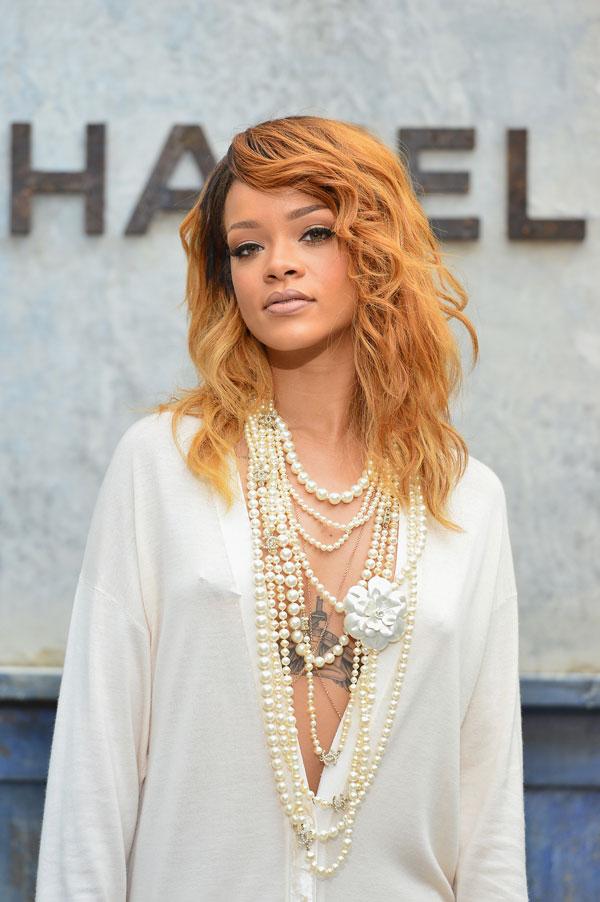 יש עוד כמה התמכרויות שהיא צריכה להיגמל מהן. ריהאנה, השבוע (צילום: gettyimages)