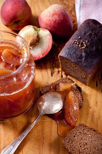 ריבת אפרסקים (צילום: בועז לביא)