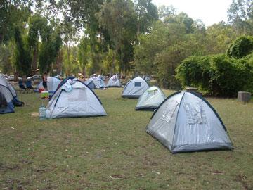 קמפינג בפארק הירדן (צילום: שמוליק חזן, רשות הטבע והגנים)