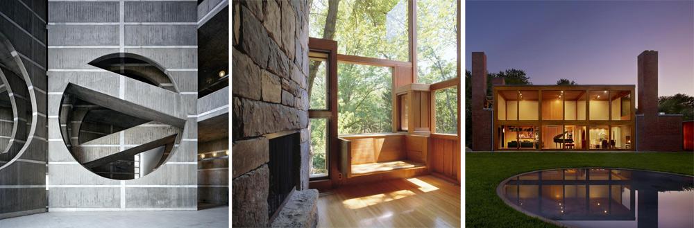קאהן, אדריכל מחונן שהטרגדיה האישית שלו מתועדת בסרט ''האדריכל שלי'' שביים בנו נתנאל, הצטיין בשימוש באור ובשילוב הטבע ביצירותיו