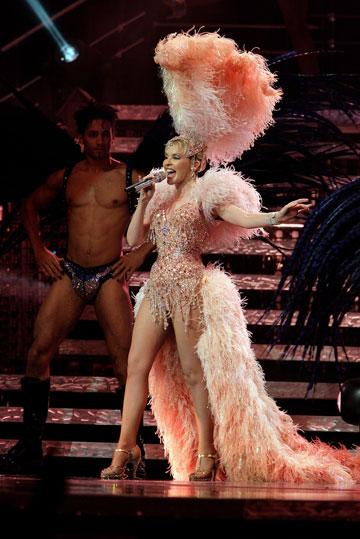 מתוך סיבוב ההופעות Showgirl:The greates Hits (צילום: gettyimages)