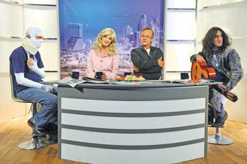 """זונה, פוליטיקאי, פליט ריאליטי ושחקנית יש גם בברזיל. """"נבחרת ישראל בטלוויזיה"""" (צילום: יוסי צבקר)"""
