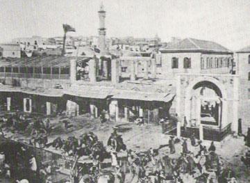 כיכר השוק של הקישלה בעבר